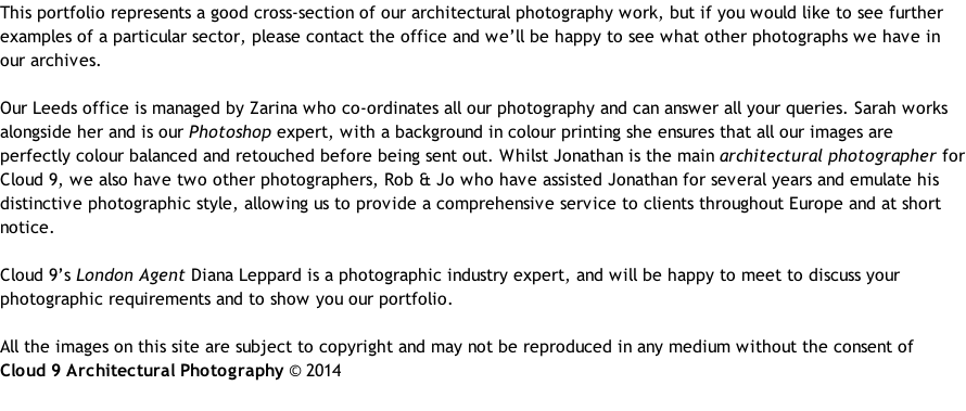 The Uk S Leading Architectural Photography Specialist
